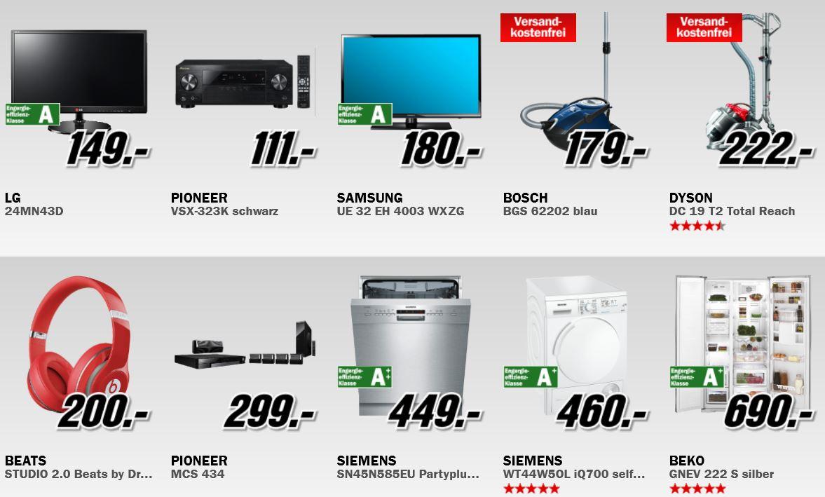 WMF Genf Cromargan Besteck Set ab 44€ und mehr richtig gute MediaMarkt Angebote: Rausräum Alarm
