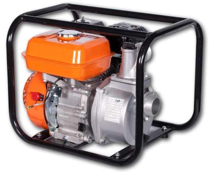 BRAST Wasserpumpe mit 5,5 PS BenzinMotor für 119,95€