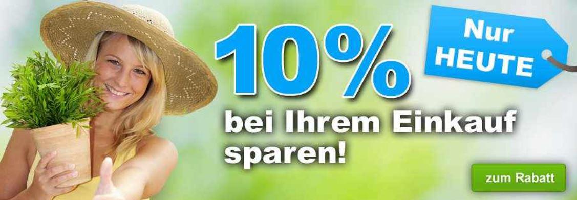 GartenXXL   heute mit 10% Rabatt auf viele interessante Angebote