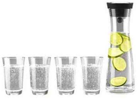 WMF Basic Wasserkaraffe 1l inkl. 4 Gläser 0,25 l und Versand für 23,95€   Update