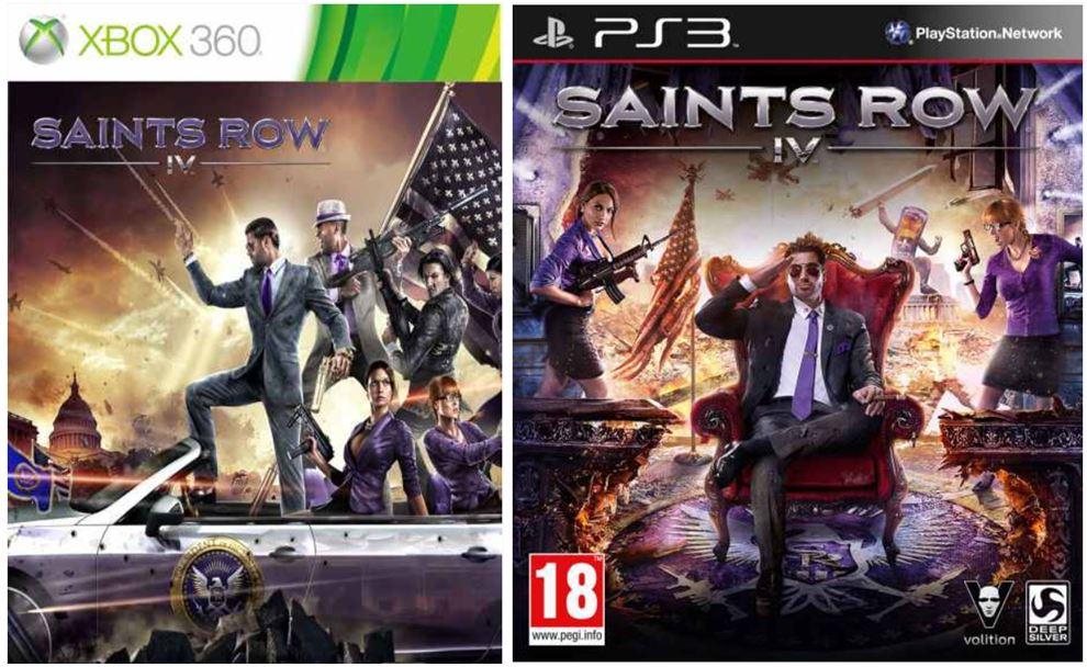 Saints Row IV für PS3 oder XBox nur je 12,39€ inkl. Versand