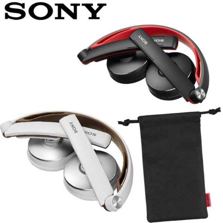 Sony MDR S70AP   Doppelpack Kopfhörer in weiß und rot für zusammen 45,90€