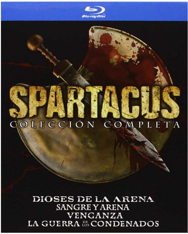 Spartacus Complete Blu Ray Collection   Uncut, deutscher Ton für 54,38€ inkl. Versand   wieder da!