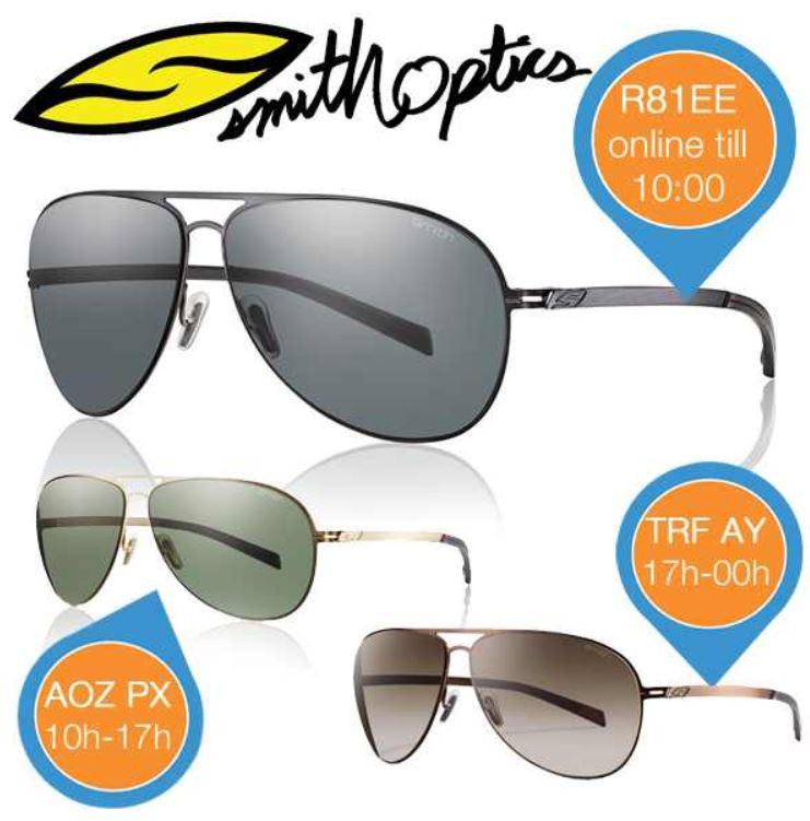 Smith Optics Ridgeway   Sonnenbrille R81 EE für 45,90€