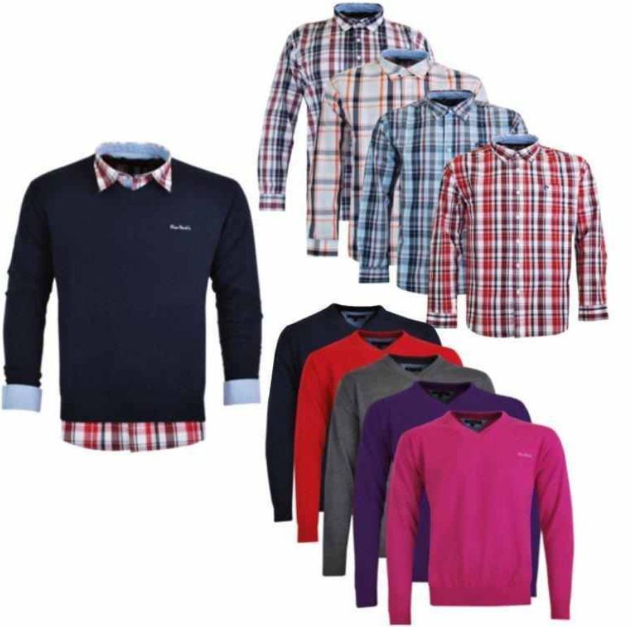Pierre Cardin Herren V Neck Pullover oder Hemden für je 22,90€   Update