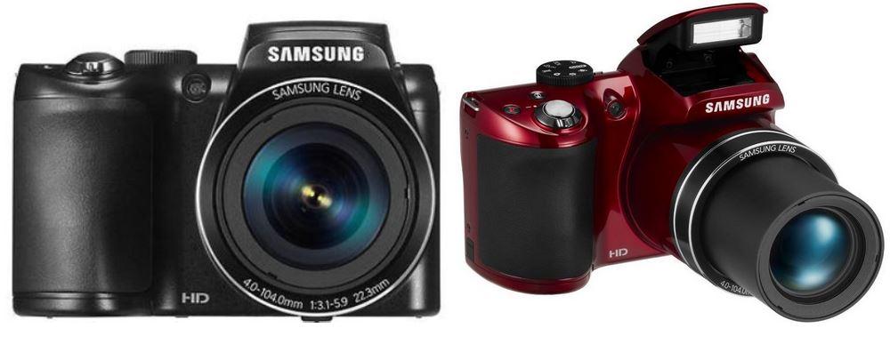 Samsung WB 110   20,2 MP mit 26fach Ultra Zoom Kompaktkamera für 119€