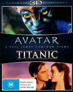 Avatar + Titanic als 3D Blu ray zusammen für 22€