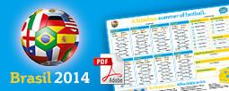 Kostenloser Planer zur Fußball WM 2014