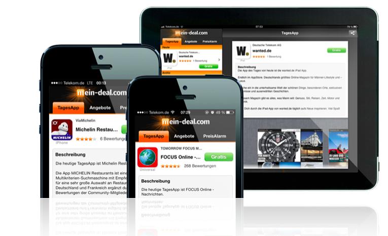 App Promotion & Marketing in der mein deal App