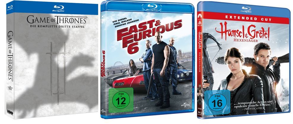 Mailights Bestseller die 184 meistverkauften DVDs & Blu rays günstig bei Amazon