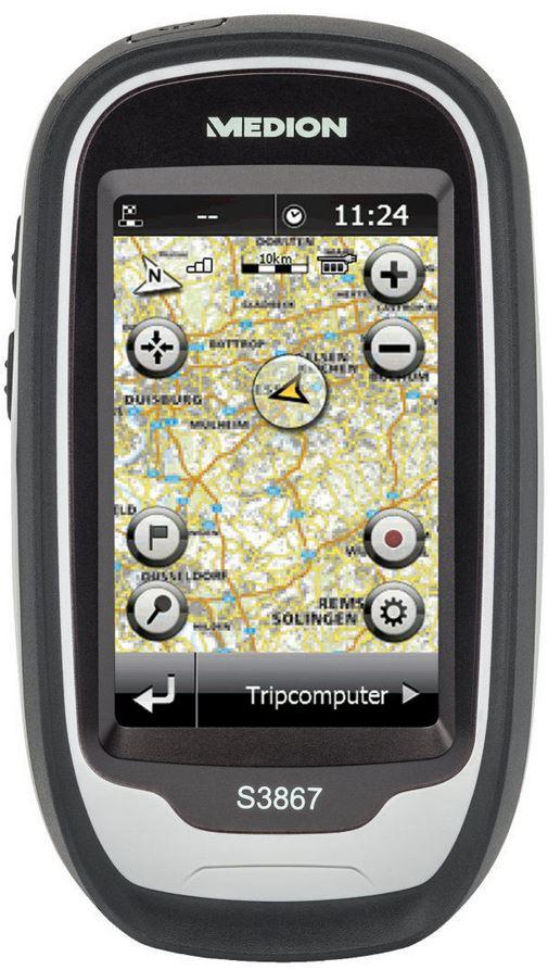 MEDION GoPal S3867 MD 98406   Outdoor Navigationssystem für 59€ als B Ware