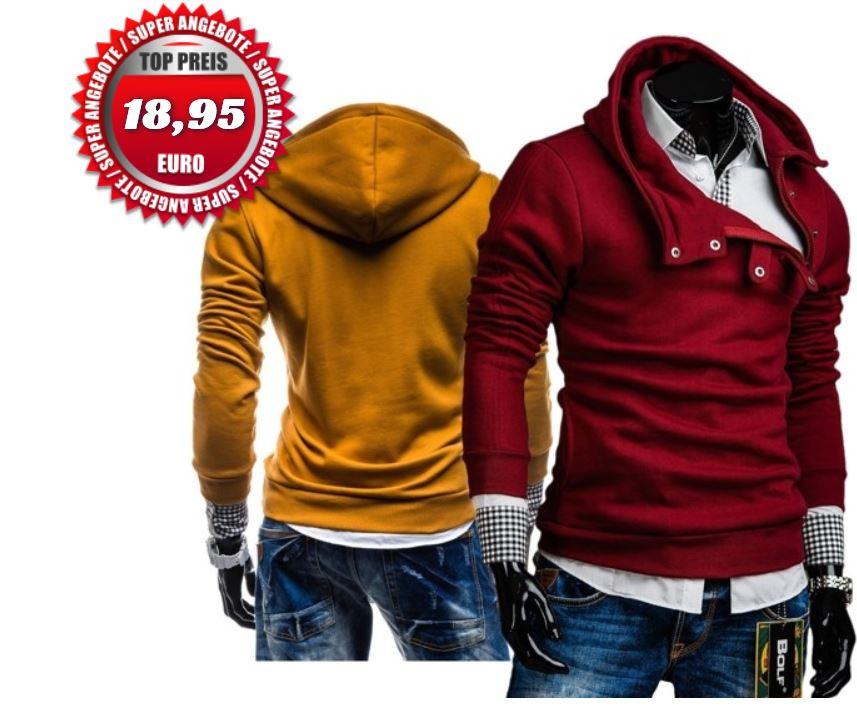 Bolf neue Hoodies   26 Modelle für je 18,95€ ink. Versand