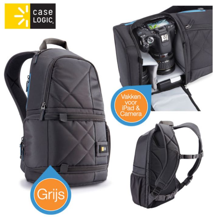 Case Logic CPL 109   DSLR Kamera und iPAD Rucksack für 35,90€ statt 88,90€