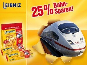 Leibniz Ticket 25   25% Rabatt auf Bahn Tickets