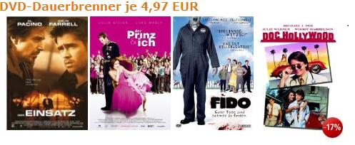 Über 200 Dauerbrenner *Topfilme für jeweils unter 5€