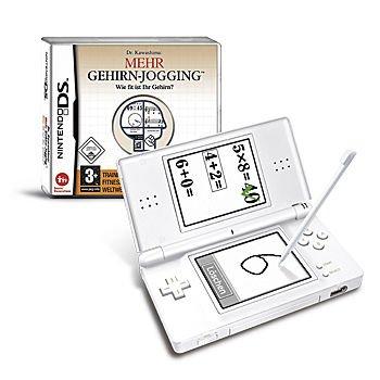 Nintendo DS Lite mit Gehirn Jogging für 125€ inkl Versand