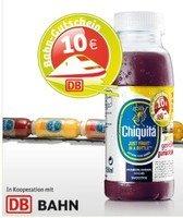 10€ Bahngutschein auf Chiquita Smoothie