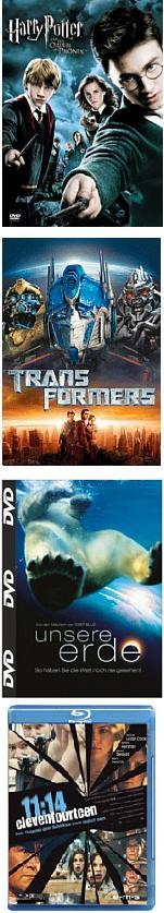 DVD Schnäppchen bei Quelle   Alle DVD Preise inkl. Versand