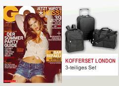 HAMMER: 3x GQ + Kofferset nur 9,80€