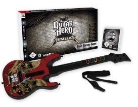 Amazon Schnäppchen: Guitar Hero   Metallica Guitar Bundle für 70€