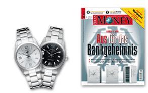 Polo Club Armbanduhr + 5 Ausgaben Focus Money nur 10,50€