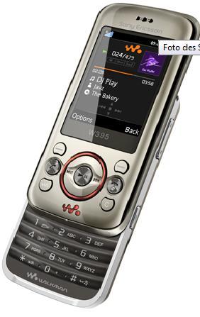 Sony Ericsson W395 mit Gutschein für nur 86€