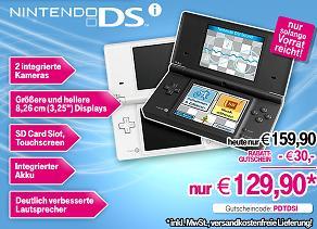 Nintendo DSi für nur 129,90€