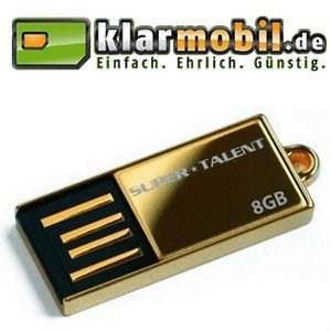 8GB USB Stick (KOSTENLOS) & 15€ Guthaben (Klarmobil) nur 4,95€
