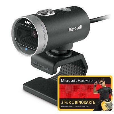 Microsoft LifeCam Cinema HD mit Jahres Kinogutschein (2 für 1) nur 38,80€
