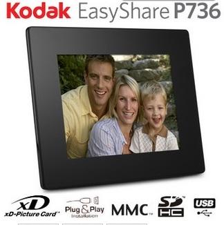 Kodak EasyShare (P736) 7? Zoll Digitaler Bilderrahmen nur 49,99€