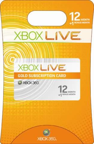 eBay: 12 Monate Goldmitgliedschaft Xbox Live für 29,95€