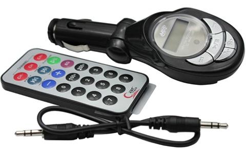 FM Transmitter (inkl. Fernbedienung) fürs Auto nur 1€