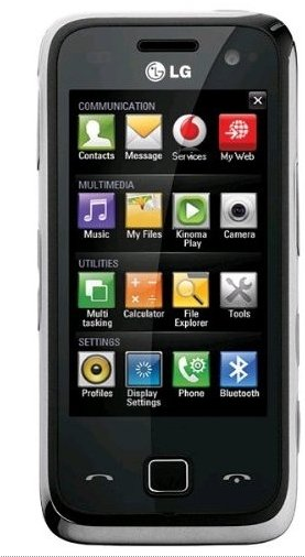 Windows Smartphone LG GM750 Laya ab 150€ inkl. Versand (Preisvergleich 191€)