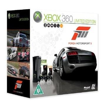 Xbox 360 – Super Elite 250 GB + 2 Controller + Forza 3 nur 238,53€ (Preisvergleich mind. ab 300€!)