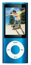 Schnäppchen von Conrad bei Ebay (B Ware) – Apple iPod Nano 8 GB Blau 5. Gen für 99€