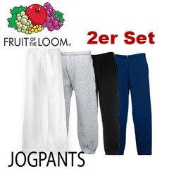 2er Set FRUIT OF THE LOOM Jogginghosen nur 15,99€