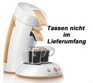 Philips Senseo HD 7810/55 – orange/weiß nur 40,40€ inkl. Versand