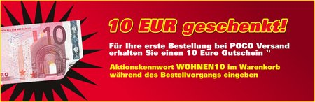 *UPDATE* Für 10€ KOSTENLOS bei Poco shoppen