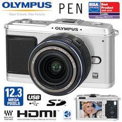 Olympus E P1 12 MP PEN Cam (HD Film, Tiefenschärfe,...) nur 456€ (sonst ab 532€)