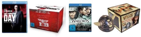 Ein paar DVD & Blu ray Schnäppchen (alle Preise inkl. Versand)