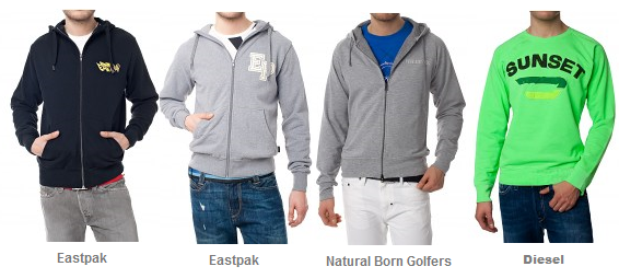 Neue MyBrands Gutscheine: 25% auf Jacken/Mäntel & 10 € auf alle Sweatshirts