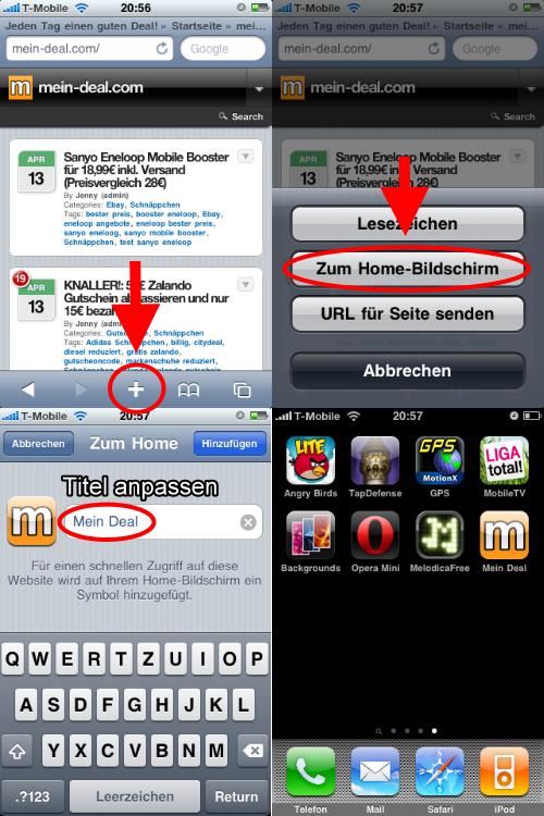 mein deal.com iPhone App