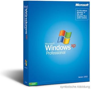 Windows XP Professional SP2 OEM nur noch 19,95€ inkl. Versand