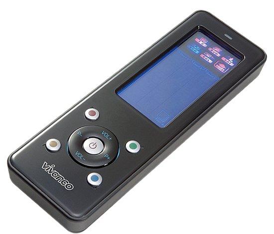 TIPP! VIVANCO Touchscreen Universal Fernbedienung nur 13,50€ inkl. Versand (Preisvergleich 43€)