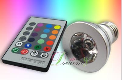 Farbwechsel LED Lampe 12,15u20ac Inkl Versand (mit Fernbedienung) Great Ideas