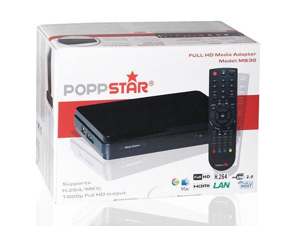 POPPSTAR Mediaplayer MS30 mit MKV Unterstützung für 30€ inkl. Versand