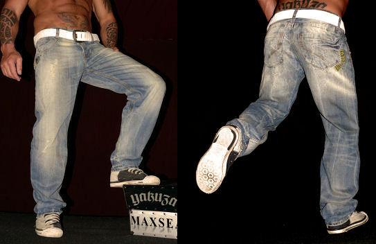 YAKUZA Jeans (JM 001 Baggy   Used Look) nur 24,99€ inkl. Versand (Preisvergleich ab 55€)
