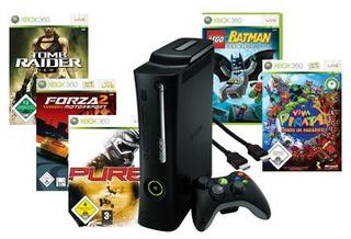 *KNALLER!* XBox 360 Elite + 5 Spiele + HDMI Kabel nur 169,99€ inkl. Versand!