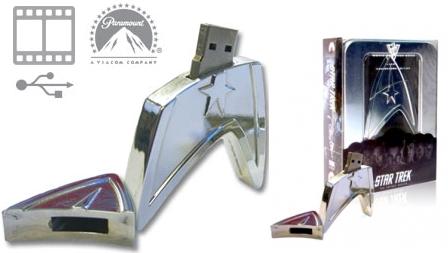 Limitierter 4GB USB Stick + Gratis Blockbuster Movie (Star Trek 2009) nur 7,99€ inkl. Versand (vorher 23€)