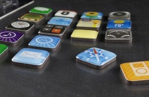 iPhone App Magneten 18er Set Kühlschrank Magneten nur 2,72€ inkl. versand